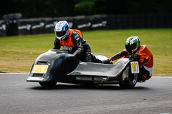 Stephen Alexander and Stephen Woolcott at Auto66, Cadwell Park, Lincolnshire, July 2018. Photo: Neil Houltby