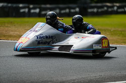 Hayley Capewell and Helen Deeley at Auto66, Cadwell Park, Lincolnshire, July 2018. Photo: Neil Houltby