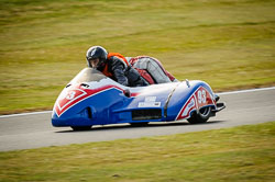 Joe Butcher and Dylan Weston at Auto66, Cadwell Park, Lincolnshire, July 2018. Photo: Neil Houltby