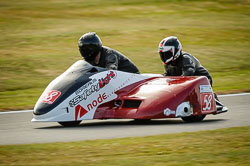 John Chandler and Doug Chandler at Auto66, Cadwell Park, Lincolnshire, July 2018. Photo: Neil Houltby