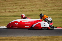 Keith Waddington and Mick Storey at Auto66, Cadwell Park, Lincolnshire, July 2018. Photo: Neil Houltby