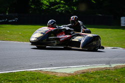 Ian Guy at International Sidecar Revival, Cadwell Park, Lincolnshire, June 2018. Photo: Neil Houltby