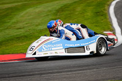 International Sidecar Revival, Cadwell Park, Lincolnshire, June 2018. Photo: Neil Houltby