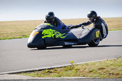 David Schofield and Tom Pettman at Wirral 100, Anglesey Circuit, Anglesey, July 2018. Photo: Neil Houltby