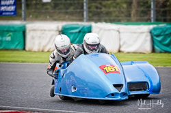Paul Downes and David Hainsworth at EMRA, Mallory Park, Leicestershire, April 2019. Photo: Neil Houltby