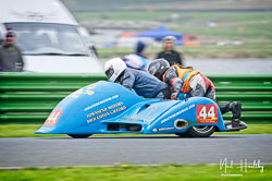 Andy King and Andrew Sigsworth at EMRA, Mallory Park, Leicestershire, April 2019. Photo: Neil Houltby