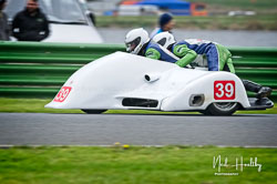 Bruce Moore and Ashley Moore at EMRA, Mallory Park, Leicestershire, April 2019. Photo: Neil Houltby