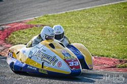 Sean Hegarty and James Neave at NG Road Racing, Snetterton, Norfolk, April 2019. Photo: Neil Houltby