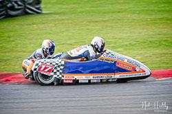 Lee Crawford and Scott Hardie at NG Road Racing, Snetterton, Norfolk, April 2019. Photo: Neil Houltby