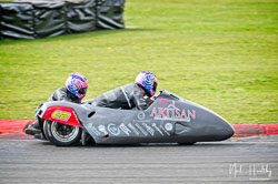 Craig Melvin and Stuart Christian at NG Road Racing, Snetterton, Norfolk, April 2019. Photo: Neil Houltby
