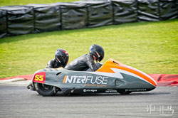 Giles Stainton and Jen Stainton at NG Road Racing, Snetterton, Norfolk, April 2019. Photo: Neil Houltby