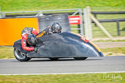 Stuart Anderson and Karen Lupton at NG Road Racing, Snetterton, Norfolk, April 2019. Photo: Neil Houltby
