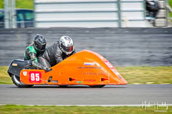 Ralph Remnant and Samantha Tilley at NG Road Racing, Snetterton, Norfolk, April 2019. Photo: Neil Houltby