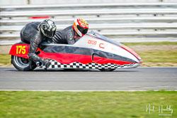 John Shipley and Milo Ward at NG Road Racing, Snetterton, Norfolk, April 2019. Photo: Neil Houltby