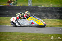 Steve Ramsden and Matty Ramsden at NG Road Racing, Snetterton, Norfolk, April 2019. Photo: Neil Houltby