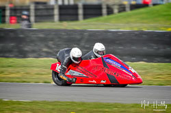 Darren Hope and Lenny Bumfrey at NG Road Racing, Snetterton, Norfolk, April 2019. Photo: Neil Houltby