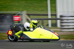 Michael Kirkup and Arlo Brown at NG Road Racing, Snetterton, Norfolk, April 2019. Photo: Neil Houltby