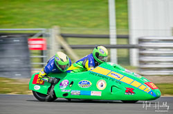 Richard Hackney and Dave Ryder at NG Road Racing, Snetterton, Norfolk, April 2019. Photo: Neil Houltby