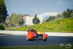 Mark Burns and Steven Winfrow at NG Road Racing, Snetterton, Norfolk, April 2019. Photo: Neil Houltby