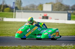 Andy Wilby and Paul Lowther at NG Road Racing, Snetterton, Norfolk, April 2019. Photo: Neil Houltby