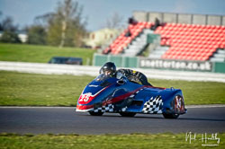 Daryl Gibson and Ashley Moore at NG Road Racing, Snetterton, Norfolk, April 2019. Photo: Neil Houltby