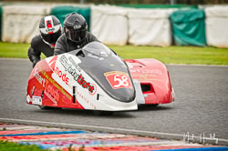 John Candler and Doug Chandler at EMRA, Mallory Park, Leicestershire, April 2019. Photo: Neil Houltby