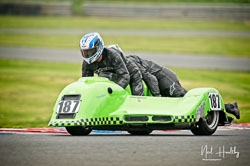Stephen Alexandra and Stephen Woolcott at EMRA, Mallory Park, Leicestershire, April 2019. Photo: Neil Houltby
