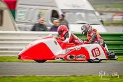 Alan Longshaw and Derek Salleh at EMRA, Mallory Park, Leicestershire, April 2019. Photo: Neil Houltby