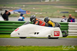 Wesley Pettman and  at EMRA, Mallory Park, Leicestershire, April 2019. Photo: Neil Houltby