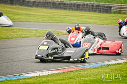 David Tibbles and Raitch Greenwood at EMRA, Mallory Park, Leicestershire, April 2019. Photo: Neil Houltby