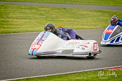 Haley Christie and Matthew Simms at EMRA, Mallory Park, Leicestershire, April 2019. Photo: Neil Houltby