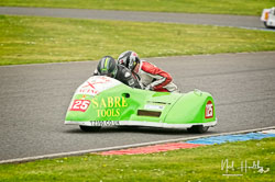 Nigel Thomas and Dylan Weston at EMRA, Mallory Park, Leicestershire, April 2019. Photo: Neil Houltby