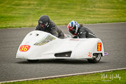 Marianne Walford and  at EMRA, Mallory Park, Leicestershire, April 2019. Photo: Neil Houltby