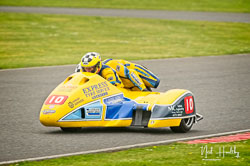 Rob Fisher and Rick Long at EMRA, Mallory Park, Leicestershire, April 2019. Photo: Neil Houltby