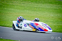 Sam Christie and Tom Christie at NG Road Racing, Donington Park, Leicestershire, May 2019. Photo: Neil Houltby