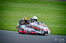 Michael Russell and Tom Bryant at NG Road Racing, Donington Park, Leicestershire, May 2019. Photo: Neil Houltby