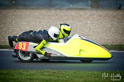 Michael Kirkup and Arlo Brown at NG Road Racing, Donington Park, Leicestershire, May 2019. Photo: Neil Houltby