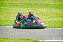 Richard Lumley and Ray Whitnall at NG Road Racing, Donington Park, Leicestershire, May 2019. Photo: Neil Houltby