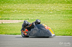 Stuart Anderson and Karen Lupton at NG Road Racing, Donington Park, Leicestershire, May 2019. Photo: Neil Houltby