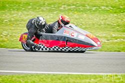 John Shipley and Milo Ward at NG Road Racing, Donington Park, Leicestershire, May 2019. Photo: Neil Houltby