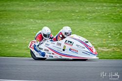 Dave Molyneux and Harry payne at NG Road Racing, Donington Park, Leicestershire, May 2019. Photo: Neil Houltby