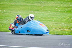 Paul Downes and David Hainsworth at NG Road Racing, Donington Park, Leicestershire, May 2019. Photo: Neil Houltby
