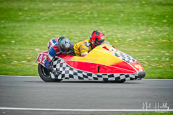 John Lowther and Tom Christie at NG Road Racing, Donington Park, Leicestershire, May 2019. Photo: Neil Houltby