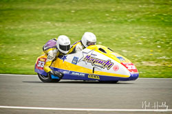 Sean Hegarty and James Neave at NG Road Racing, Donington Park, Leicestershire, May 2019. Photo: Neil Houltby
