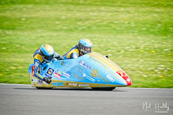 Pete Founds and Jevan Walmsley at NG Road Racing, Donington Park, Leicestershire, May 2019. Photo: Neil Houltby