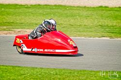 Robert Atkinson and Glen Dawson at NG Road Racing, Donington Park, Leicestershire, May 2019. Photo: Neil Houltby