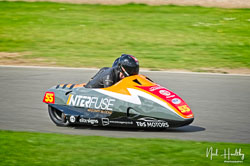 Giles Stainton and Jen Stainton at NG Road Racing, Donington Park, Leicestershire, May 2019. Photo: Neil Houltby