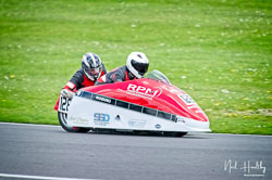 Simon Horton and Paul Bailey at NG Road Racing, Donington Park, Leicestershire, May 2019. Photo: Neil Houltby