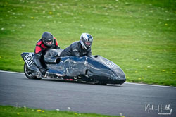 Lee Chadwick and Steven Fairclough at NG Road Racing, Donington Park, Leicestershire, May 2019. Photo: Neil Houltby