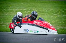 Wesley Pettman and Andy Haynes at NG Road Racing, Donington Park, Leicestershire, May 2019. Photo: Neil Houltby